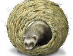 Плетеный шар средний для домашних животных