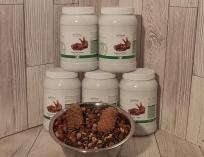 Сбалансированный корм для белок.